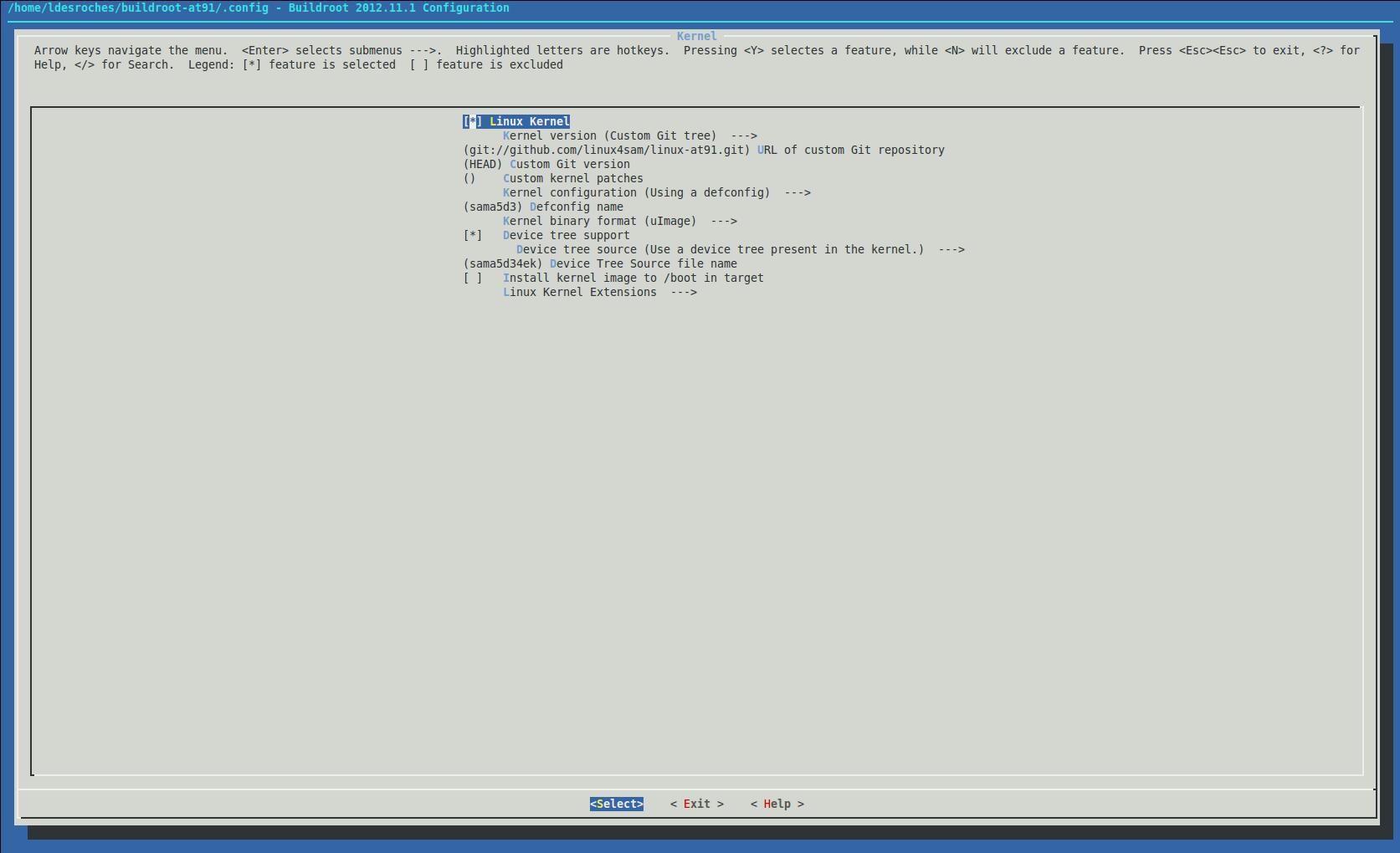 BuildRootBuild < Linux4SAM < TWiki