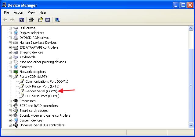 SAMA5D3 Xplained usb console