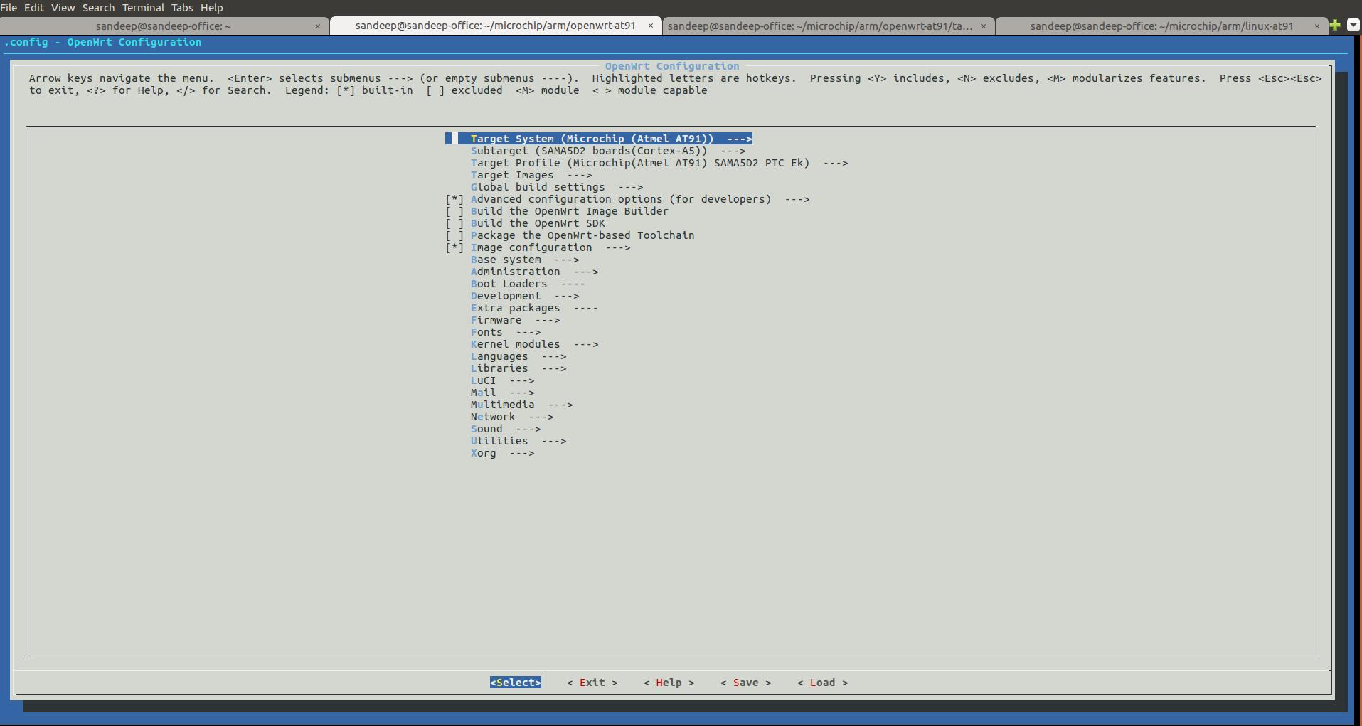 OpenWrt < Linux4SAM < TWiki