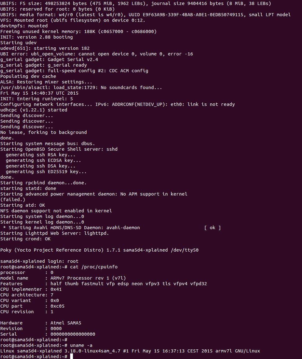 PokyBuild < Linux4SAM < TWiki